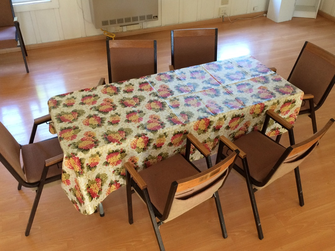 Sanctuary Setup & Chairs And Tables - THE HOME OF TRUTH